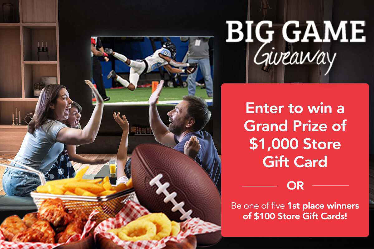 Big Game Giveaway 2021